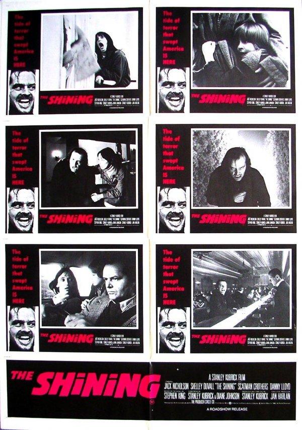82: Movie Poster: The Shining rare 1-sheet