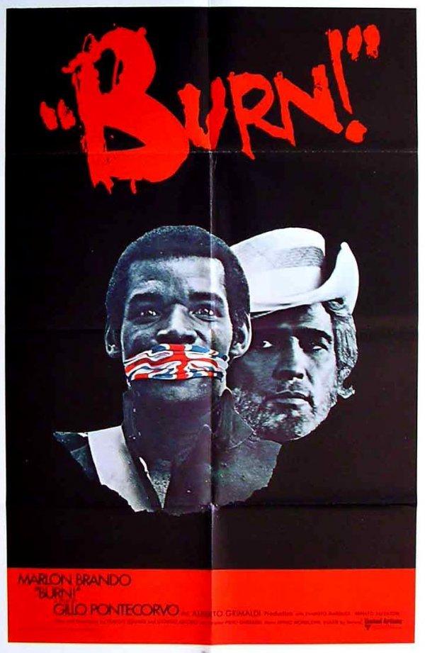 155: Movie Poster: Burn / Queimada, Brando