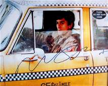 163 Movie Poster Taxi Driver lobby card autographed