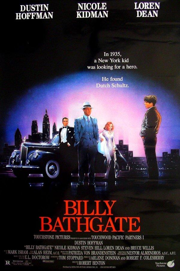 227: Movie Poster: Billy Bathgate, Dustin Hoffman