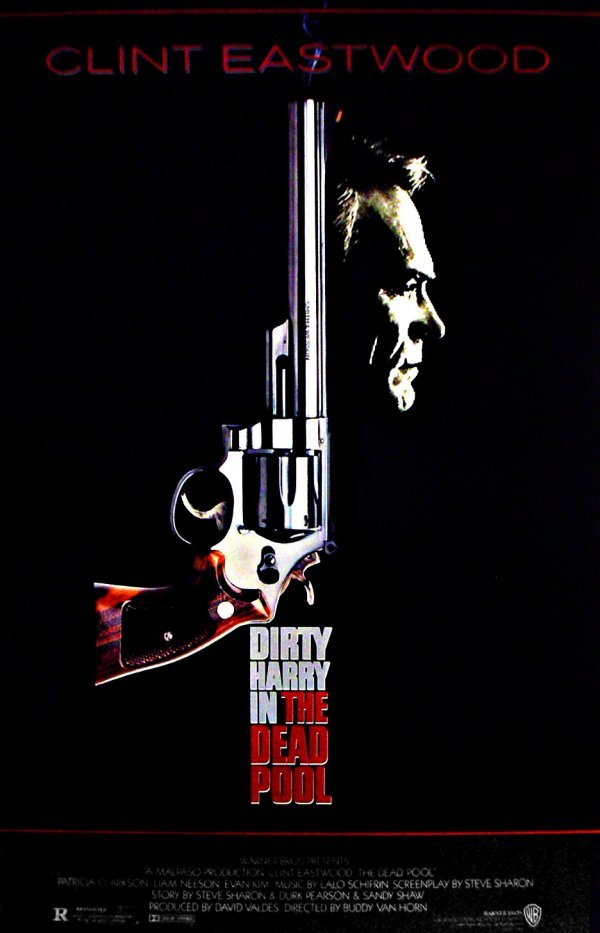 289: Movie Poster: The Dead Pool - Dirty Harry