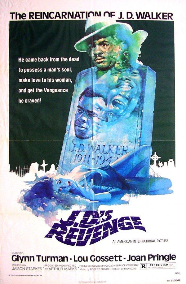 319: Movie Poster: JD's Revenge, Lou Gossett