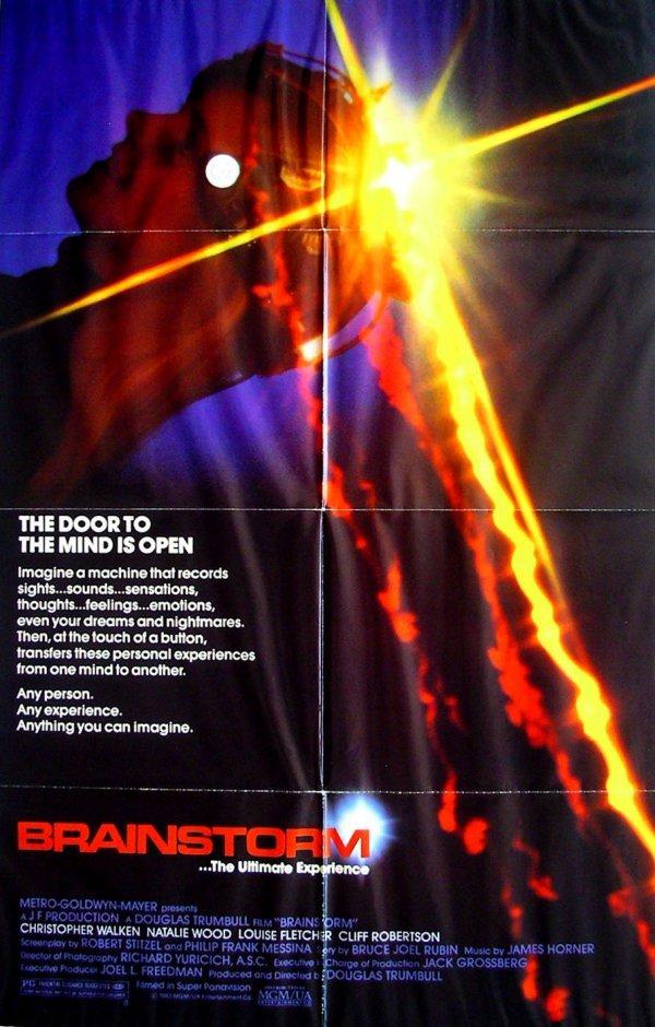 398: Movie Poster: Brainstorm, Natalie Wood