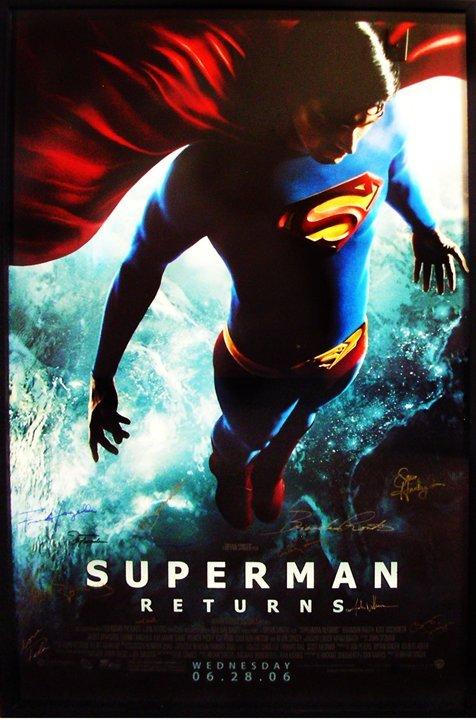 12: Movie Poster: Superman Returns 2006