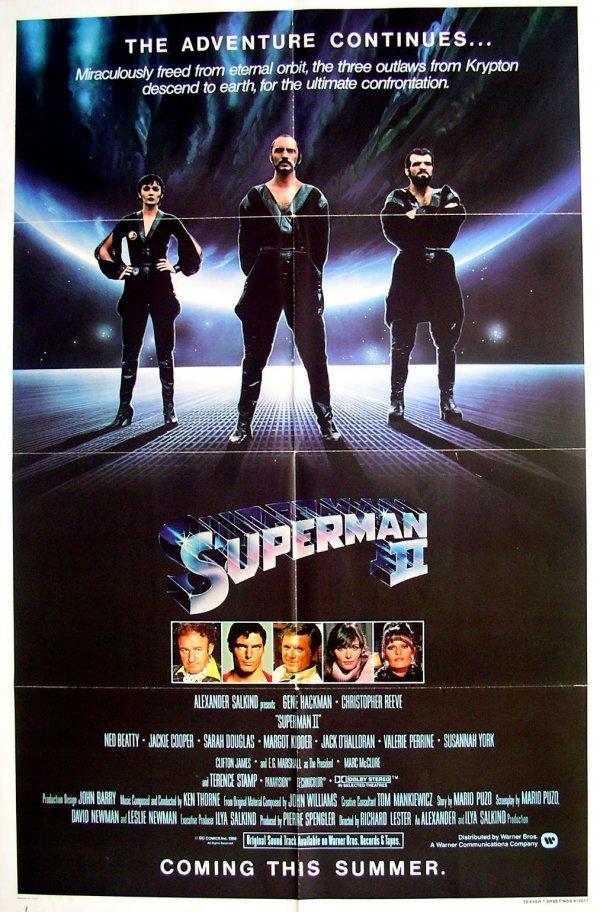 15: Movie Poster: Superman II, teaser, 1981