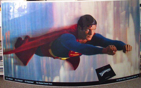 19: Movie Poster: Superman The Movie banner