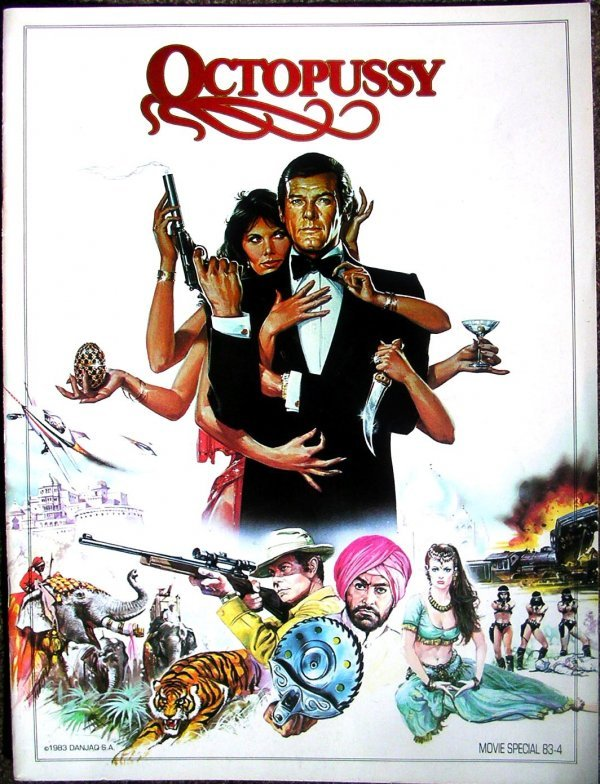 123: Movie Poster: Bond, Octopussy book