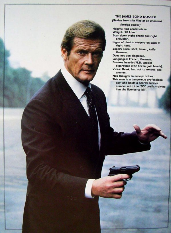 123: Movie Poster: Bond, Octopussy book - 4