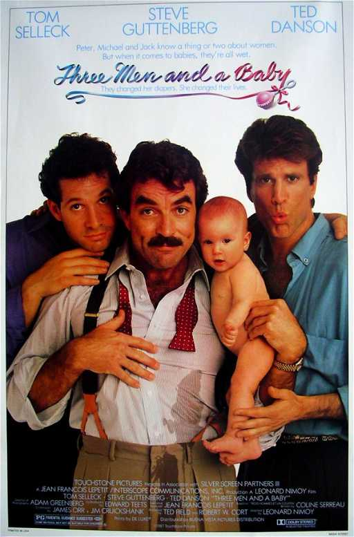 368 Movie Poster Three Men And A Baby