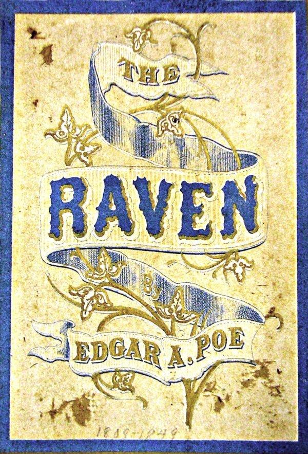1006: Book: Poe's The Raven 1870, Demoret