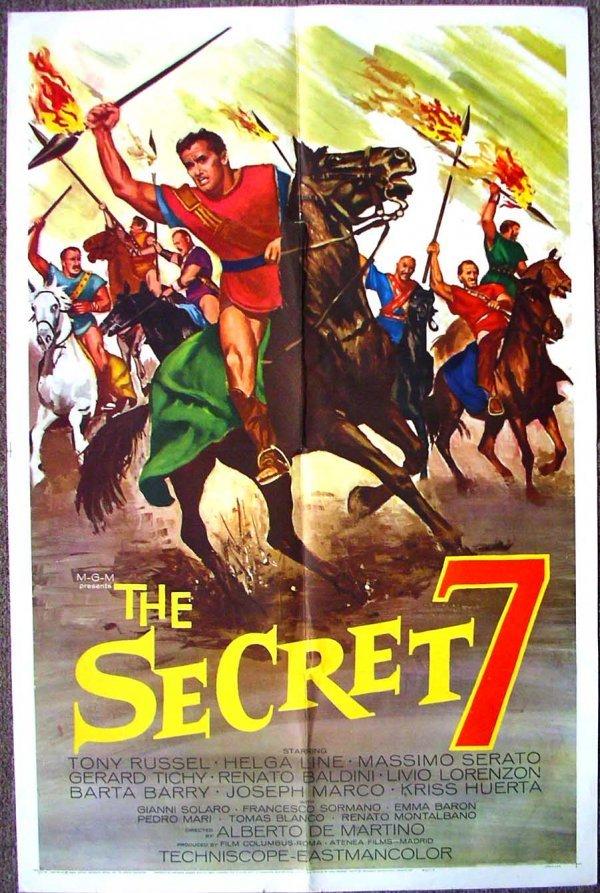 1022: Movie Poster: The Secret 7, 1966