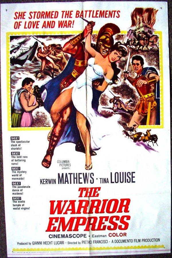 1023: Movie Poster: The Warrior Empress, 1960