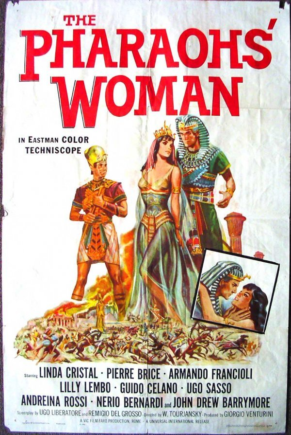 1024: Movie Poster: The Pharaohs' Woman, 1961