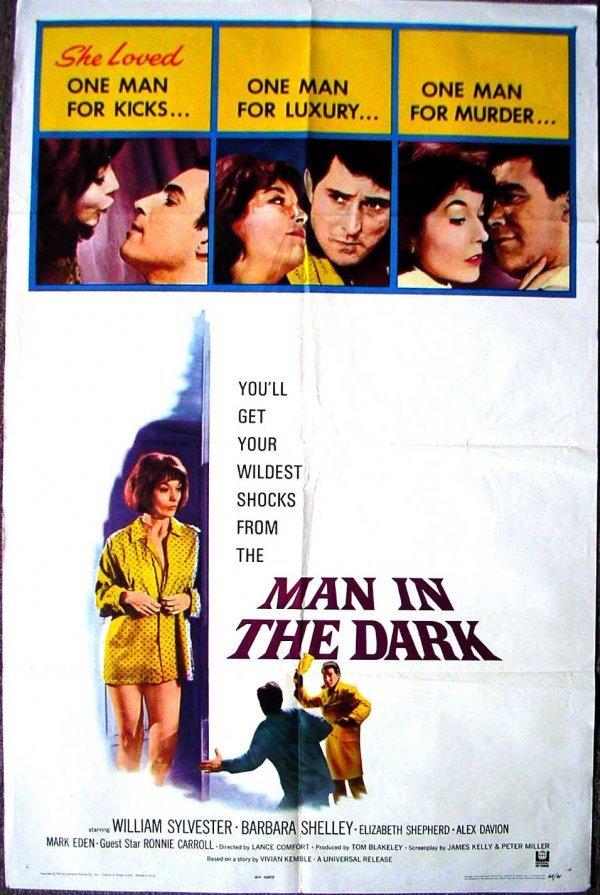 1027: Movie Poster: Man In The Dark