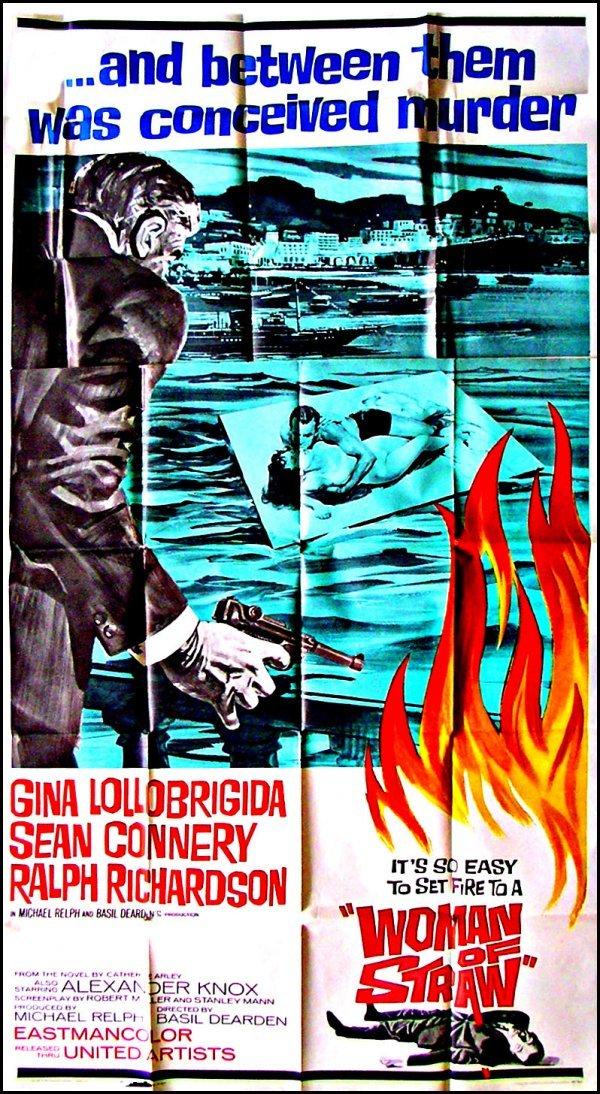 1038: Movie Poster: Women of Straw, 3-sheet, 1964,