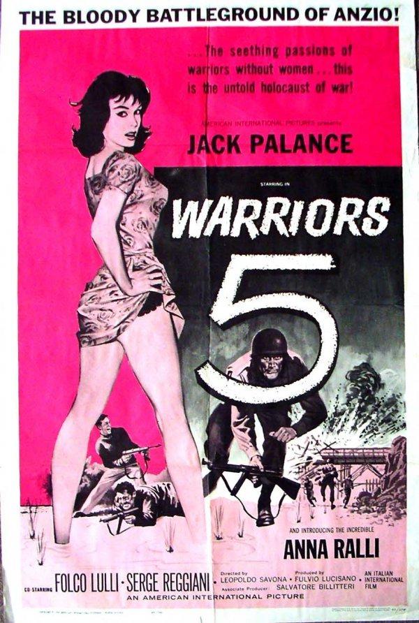 1041: Movie Poster: Warriors 5, 1962