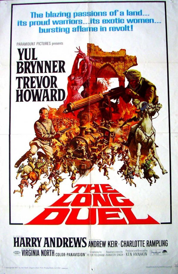 1042: Movie Poster: The Long Duel, 1967