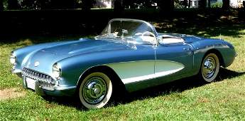 25: 1957 Corvette Convertible