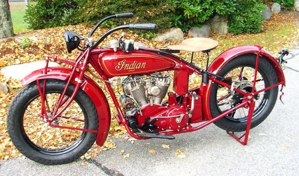 27: 1927 Indian Chief Motorcycle
