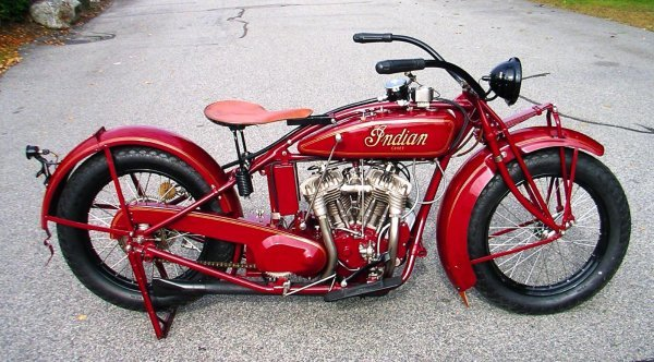 27: 1927 Indian Chief Motorcycle - 2