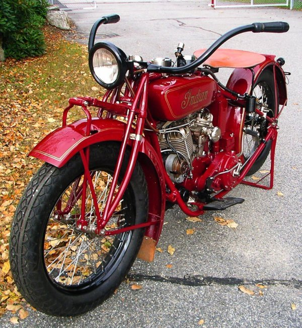 27: 1927 Indian Chief Motorcycle - 3