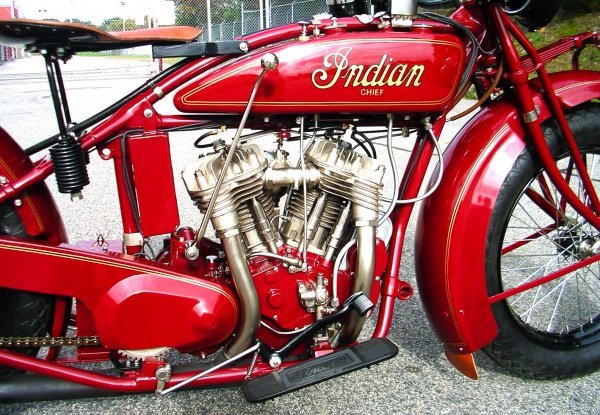 27: 1927 Indian Chief Motorcycle - 4