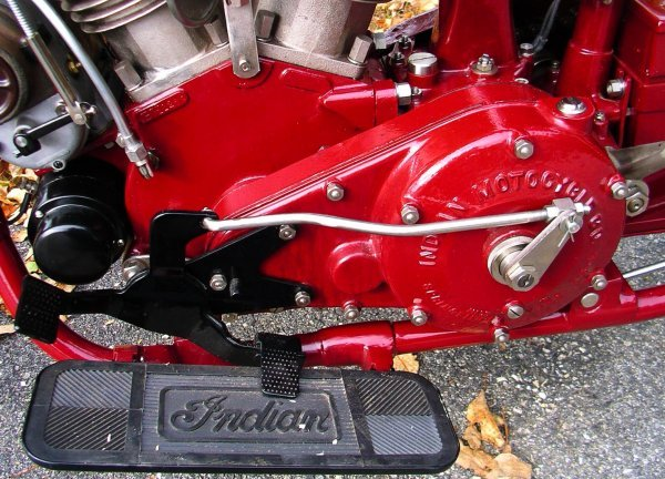 27: 1927 Indian Chief Motorcycle - 5