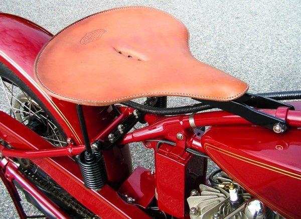 27: 1927 Indian Chief Motorcycle - 6