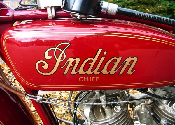 27: 1927 Indian Chief Motorcycle - 7