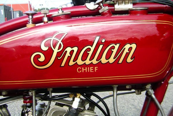 27: 1927 Indian Chief Motorcycle - 8