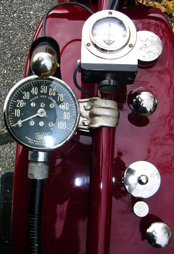 27: 1927 Indian Chief Motorcycle - 9