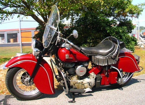 28: 1946 Indian Chief Motorcycle