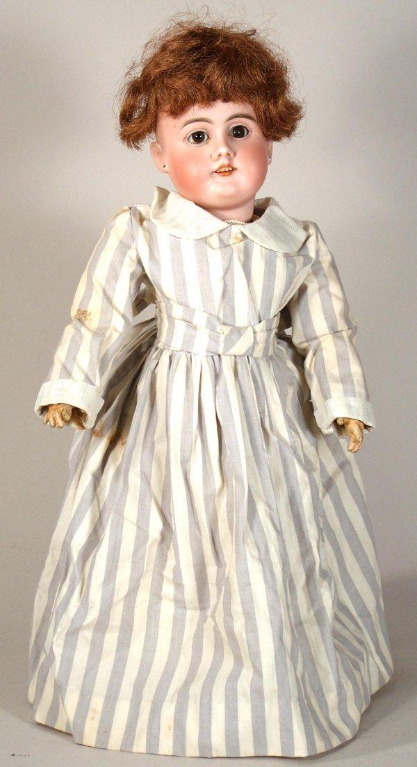 68: Vintage DEP Bisque Head Doll