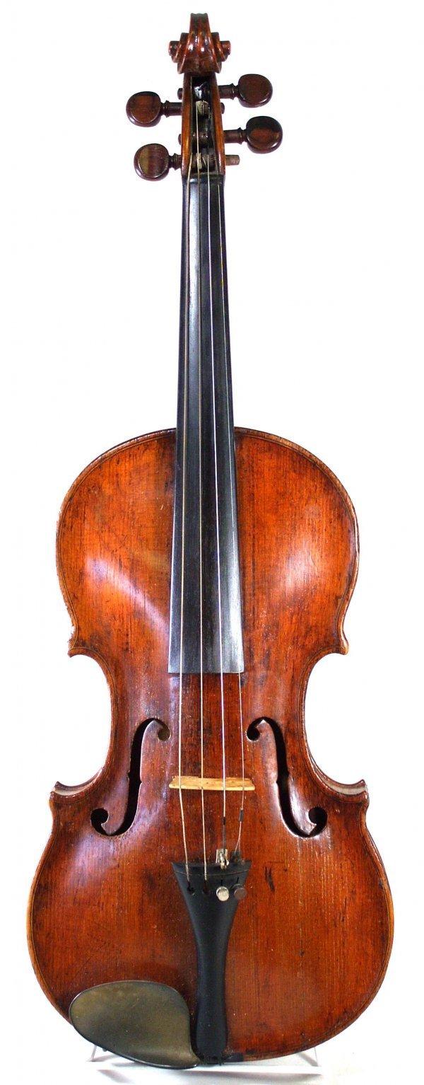 83: Johann Heberlein Violin, dated 1804