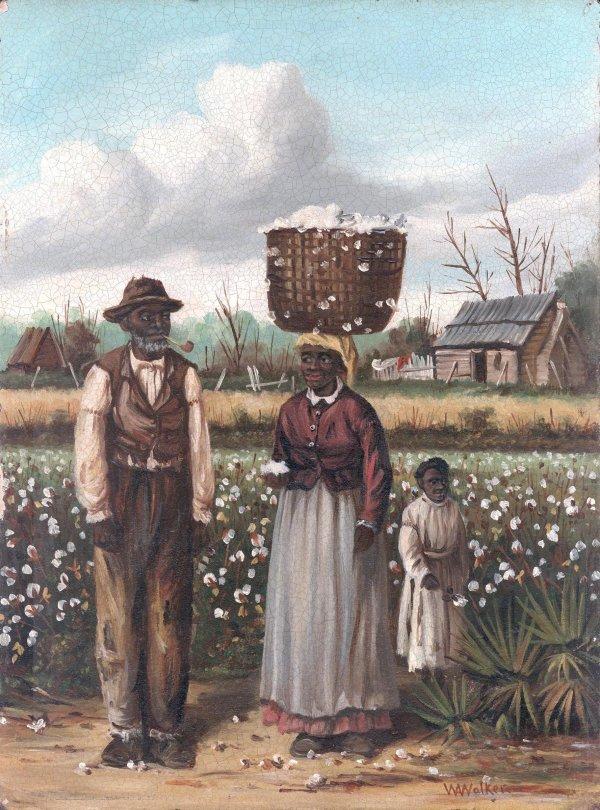 111: Wm. Aiken Walker Cotton Pickers painting