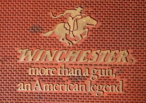 2011: Vintage Winchester Rubber Counter Mat