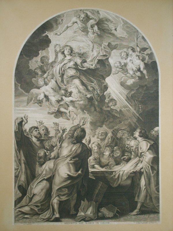 2030: Peter Paul Rubens Engraving 1624