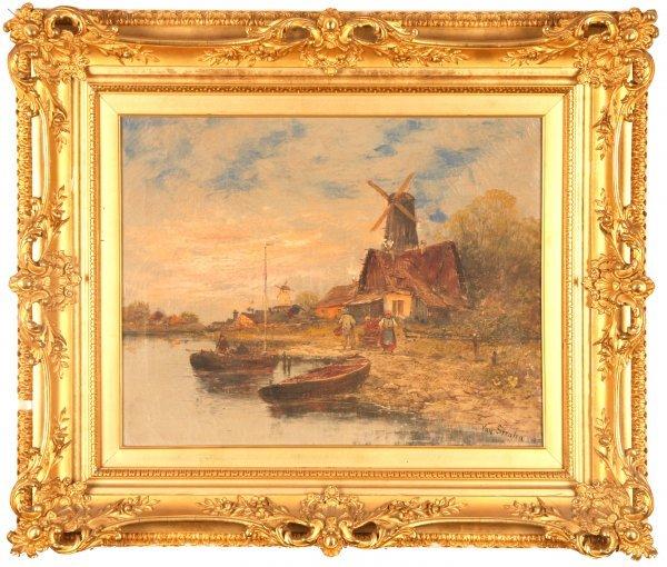 2042: Hendrick Van Straten painting o/c