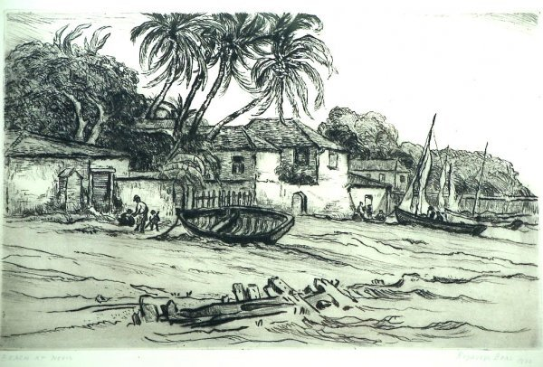2051: Reynolds Beal etching