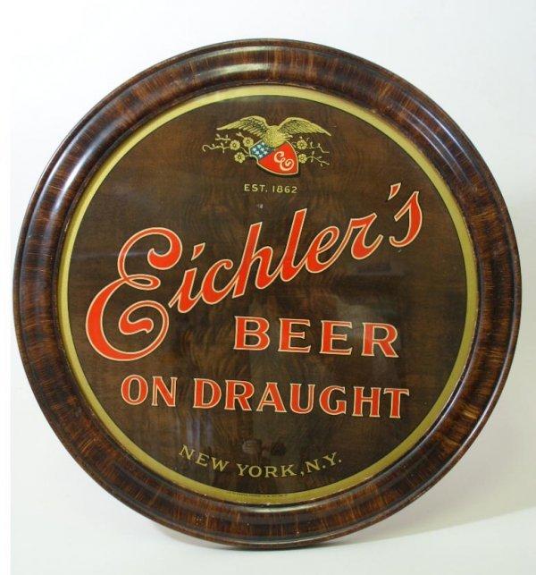 2054: Vintage Eichler's NY Beer Sign