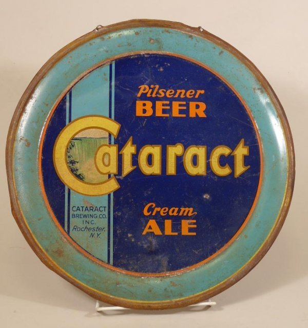 2057: Vintage Cataract Brewing Co. Tin Sign