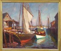2150 Emile Gruppe painting oc