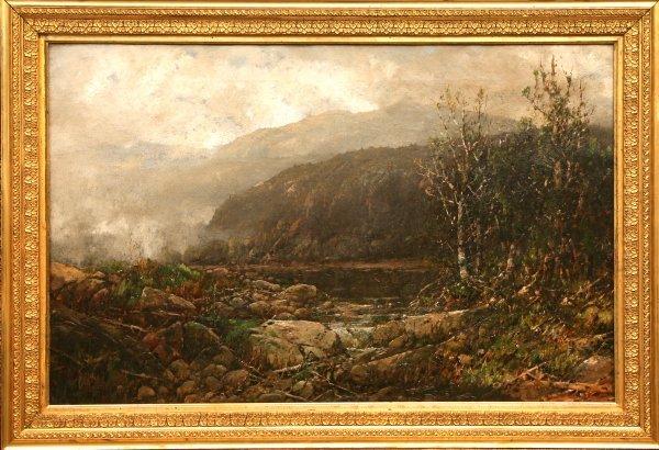 2165: William Sonntag Sr. painting oil on canvas