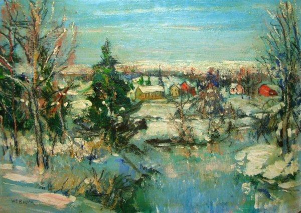 67: Painting: Walter Emerson Baum