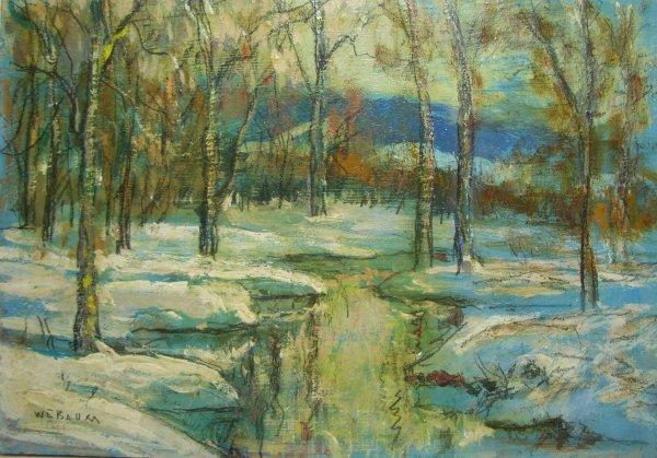 68: Painting: Walter Emerson Baum