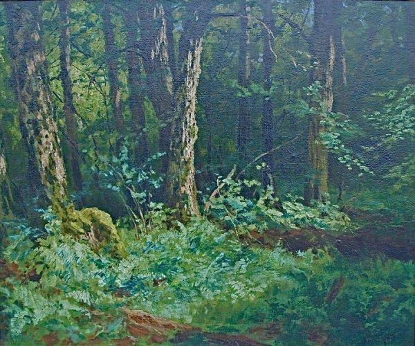 74C: Painting: Marcus Waterman