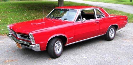 75: 1965 Pontiac GTO Post Coupe