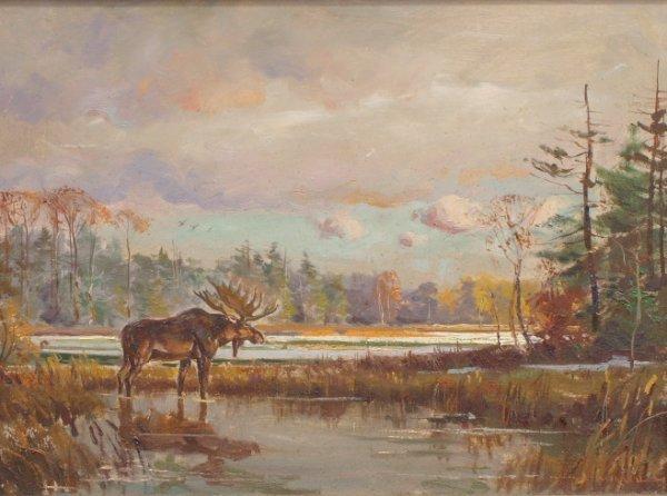 134: Painting: Wayne Morrell