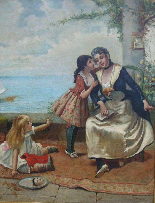 146: Painting: Emile Pinchart