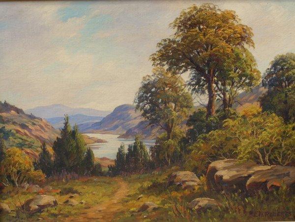 147: Painting: Elizabeth Wentworth Roberts